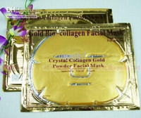 Wholesale 150pcs Gold Crystal Collagen Facial Mask Face Masks Brand New