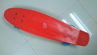 Cheap Free Shipping 27-Inch Nickel Mini Cruiser Penny Plastic Skateboard For Christmas