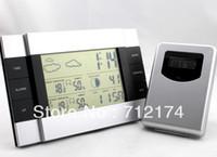 Cheap RF Wireless Weather Station indoor outdoor Temperature Alarm Clock Meter Sensor
