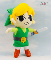 Anime & Comics Green Chirstmas The Legend of Legend Zelda NINTENDO 20CM stuffed plush toys EMS free shipping