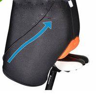 Wholesale Fashion men women Unisex Bicycle Cycling Bike Short Underwear Pants Gel D Padded Coolmax Black