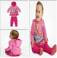 bear suits for sale - Hot Sale New Autumn kids suits piece set for girls girls hoodie pants Little Bear baby wear free