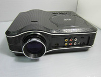 Wholesale led projector for home theater cinema ilt in dvd player can play Disk VCD S disk