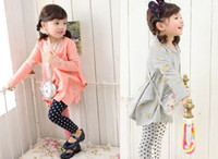 t-shirt printing - Pink Ideal Girl T shirts Printed Star Long Sleeve T shirts Baby Clothes Gray Pink