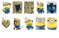 apple ipad news - 2013 hot News design Despicable Me hard black case cover for ipad