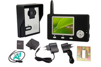 Wholesale One to One Color Screen GHz Digital Wireless Video Door Entry System Intercom Phone