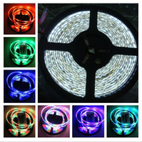 Wholesale DHL V V SMD m roll leds non waterproof LED strip light led Christmas light LED ribbon light for decoration