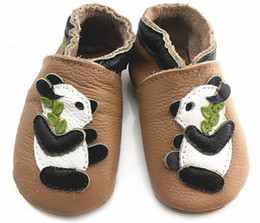 Wholesale 1pc Panda baby girl shoes kids shoes soft leather baby shoes designer baby shoes toddler shoes T