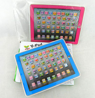 Wholesale Retail Kid s Educational Toys Y Pad ABC English Tablet Computer Learning Machine Touch Screen