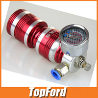Fittings   Free shipping 2013 new HKS Air Intake Turbo Charger Compressor Fuel Gas Saver Gauge Performance Red
