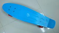 """Long Board Plastic 22 inch Free Shipping Penny Nickel Skateboards Yellow Blue Green Red Boards 27""""Longboard"""