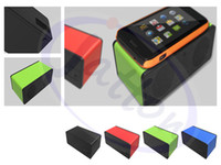 2 battery amplified speaker - magic speaker COLORS with battery HM Wireless induction Audio Interaction Amplifying Speaker DHL FEDEX