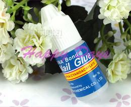 Wholesale Acrylic UNA Bond Nail Glue g Makeup Glue for Nail Art Tips Nail Glue Adhesive