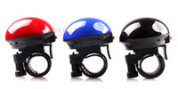 60G electronic devices black,blue,red Fashion Bike Mountain Bicycle Handlebar Mini Ring Bell Horn Sound Metal 3 Colors Free EMS L123