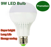Wholesale New bulb promotion w Globe LED bulb lamp light bubble ball E27 SMD led lm