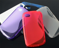Wholesale S Line TPU Gel Case Soft Back Cover Rubber Skin for Blackberry BB Q10 Various Colors