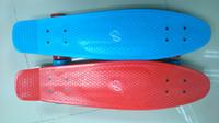 """Rocket Board Plastic 27 inch Free Shipping Penny Nickel 27"""" Custom Cruiser Complete Skateboard Longboard"""