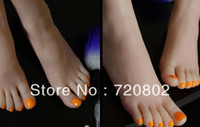sex doll feet - 3D real doll solid silicone Pussy Feet fake feet sex women feet model shoes girls foot feet female