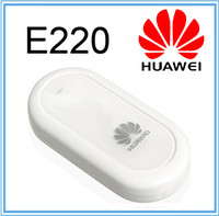 Wholesale Cheap UNLOCKED HUAWEI E220 G HSDPA USB MODEM Mbps wireless network card support google android