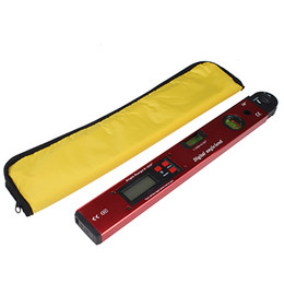 Wholesale Brand New Aluminum Angle Slope Finder Vertical Horizontal Digital Display Spirit Level Measuring PC22