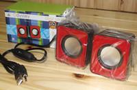 Wholesale Best gift mini speaker best sound USB SPEAKER Portable Mini Speaker Music MP3 Player