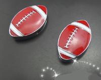 Wholesale mm American football slide charm fit for bracelet