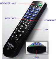 Wholesale Frees hipping HD720P TV Universal Remote Control Latest Hidden Camera Home spy security camera