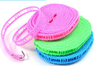 Wholesale nylon Cooling dress rope with cell rope Airing Clothes rope clothesline windp