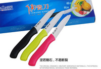 Wholesale Brand New Pocket Ceramic Knife Fruit Meat Knife Peeler Wear Hardness Chef Kitchen Cutlery