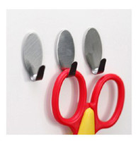 adhesive door hooks - 120pcs Home Kitchen Wall Door Self Adhesive Stainless Steel Stick Holder Hook Hanger