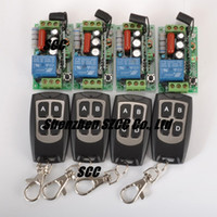 1 -30'c-+60'c 220V 220V RF wireless remote control switch system (4 transmitter and 4 receiver )