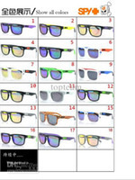 Wholesale PROMOTION HOT SALE SPY KEN BLOCK HELM Cycling Sports Sunglasses Outdoor Sun glasses COLORFUL LENS for men colors mixed