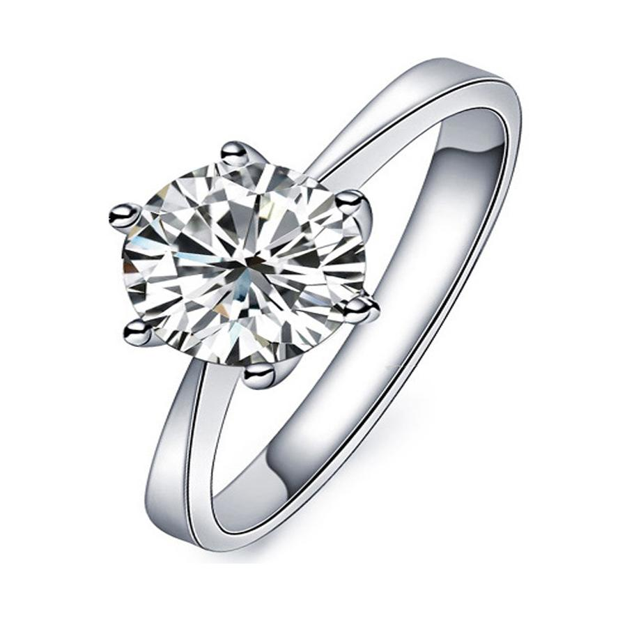 Pure Silver Rings Pure Silver Ring Women Wedding