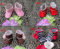 Girl Spring / Autumn Cotton Fashion 3010 New baby baby cotton shoes ugg boots shoes kids alone