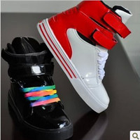 Wholesale Han edition Justin fastening high help paint couples skate are shoes casual shoes for men and women