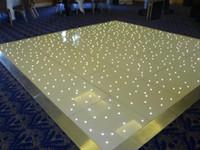 Wholesale LED Dance Floor LED Starlie Dance Floor x26 x28 x30 x36 feets led effect led floor