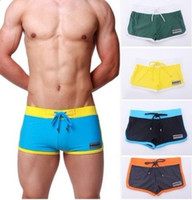 Cheap Briefs swimming trunks Best Polyester Geometric shorts