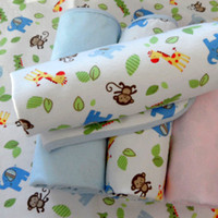 Wholesale Child bamboo fibre waterproof changing mat baby flannel cotton waterproof bed sheets baby mattress pad