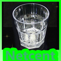 Wholesale Mini LED Flashing Plastic Glass Barware Lamp Cup Parties amp Bar Use