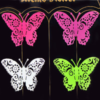 Wholesale Classic Iron Sheet Butterfly Magnets Home Decor Magnetic Toys FM012