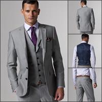 Wholesale Grey Suit Black Trim - Buy Cheap Grey Suit Black Trim ...