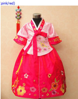 4T-5T Girl Easter Gril children Korean tranditional HANBOK dress clothes performance wear costume party bubble skrit
