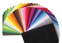 Wholesale polyester felt fabric DIY felt fabric non woven felt CMX20CM colors
