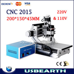 Wholesale CNC Mini Engraving Machine Drilling amp Milling Carving Router For PCB Wood