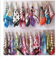 Wholesale Female clothing small emulation silk scarf silk scarves joker s silk scarves leopard towel fabric