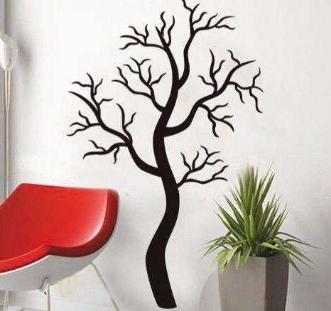 Black Tree Sticker For Wall Black Tree Wall Stickers