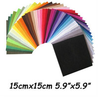 Wholesale polyester felt fabric DIY felt fabric non woven felt CMX15CM colors
