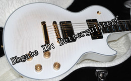 Wholesale 2013 Hot Selling Guitar Supreme Alpine White Burst AAAA Flametop Mint lbs oz