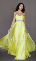 All Size balloon prom dresses - Cheap new Sexy Formal Evening Dresses Wear Prom Gowns Yellow Beaded Pageant Dresses