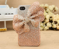 Wholesale Luxury Bling Bling Big Bowknot Phone Case For Iphone case Cell Phone Case